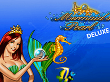 Mermaid's Pearl Deluxe на зеркале Вулкан